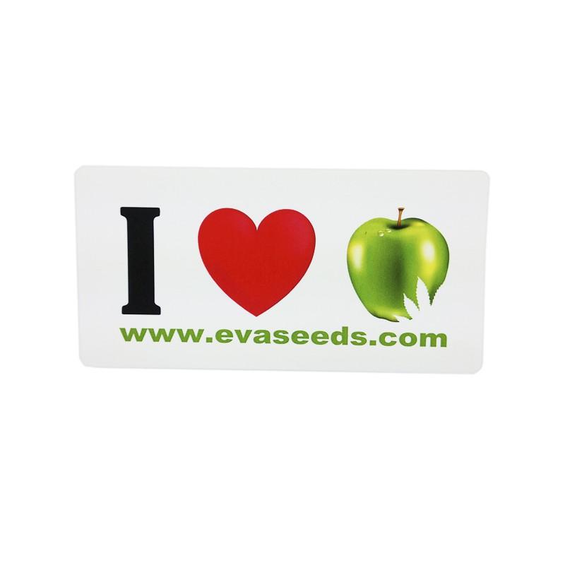 I Love Eva Seeds adhesive