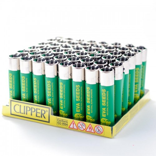CLIPPER LIGHTER EVA SEEDS GREEN