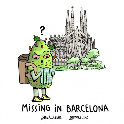 ADHESIVO FAVRE INC X EVA SEEEDS MISSING IN BARCELONA
