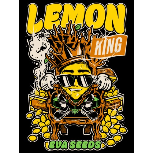 LEMON KING STICKER