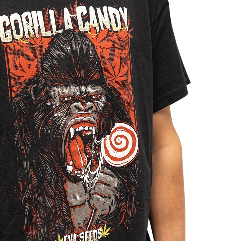 CAMISETA GORILLA CANDY EVA SEEDS