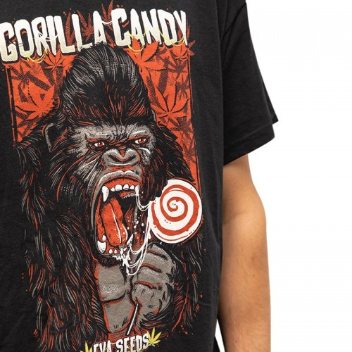 GORILLA CANDY T-SHIRT EVA SEEDS gift - indicate size in observations