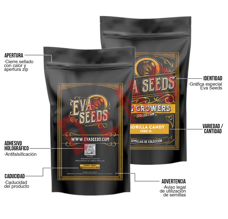 Semillas granel Eva Seeds